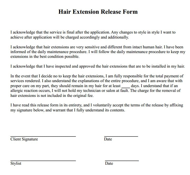 hair-extension-release-form