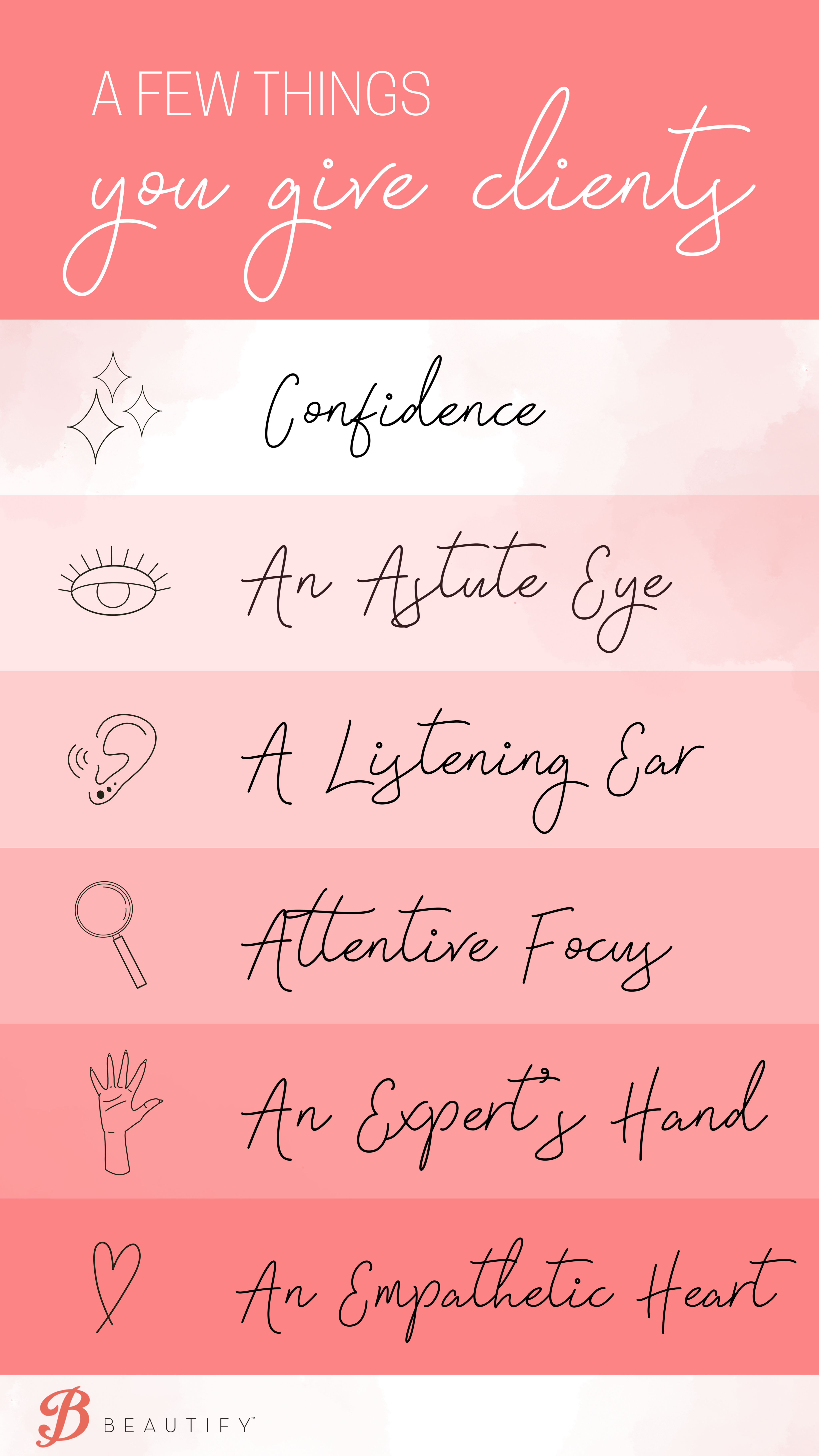 Beautify Why STylists Infographic